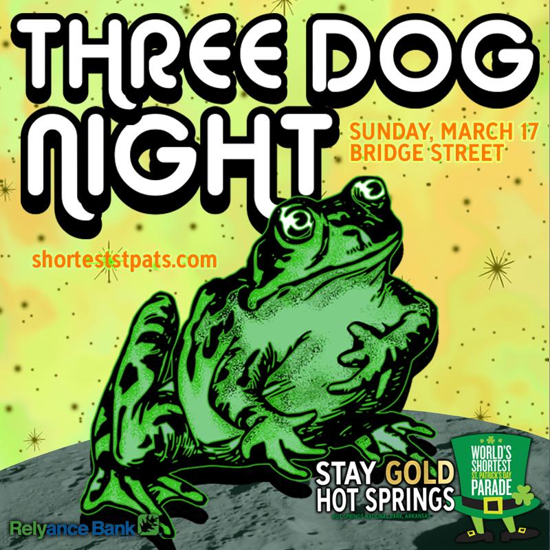 Three Dog Night - Worlds Shortest St. Patrick's Day Parade